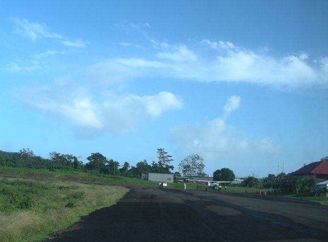 Runway at Big Corn Island